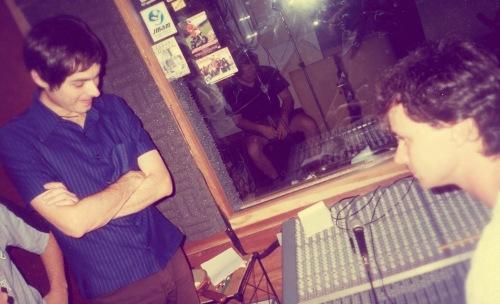 Ouvindo as gravações - Júpiter Maçã e Marcelo Birck